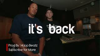 "FREE ""it's Back"" - West Coast Type Beat Eminem x Cypress Hill x Dr dre Instrumental (Prod.Hi Jop)"