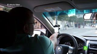 Un conductor de Uber: