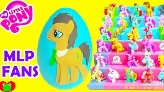 My Little Pony Dr  Whooves Play Doh Surprise Egg Wave 11 and Wave 12