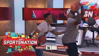 Markelle Fultz Goes One-On-One With Marcellus Wiley   SportsNation   ESPN