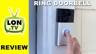 Ring Doorbell Review - WiFi Doorbell / camera security system with Internet intercom