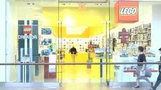 Inside the LEGO® Store - Natick Mall Massachusetts