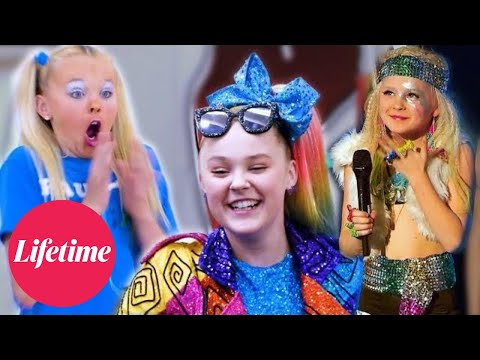 JoJo Is Working For It Now JOJO UPSTAGES EVERYONE Dance Moms Flashback Compilation Lifetime
