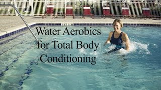 Water Aerobics Total Body Strengthening & Cardio AQUA WORKOUT#1 - WECOACH