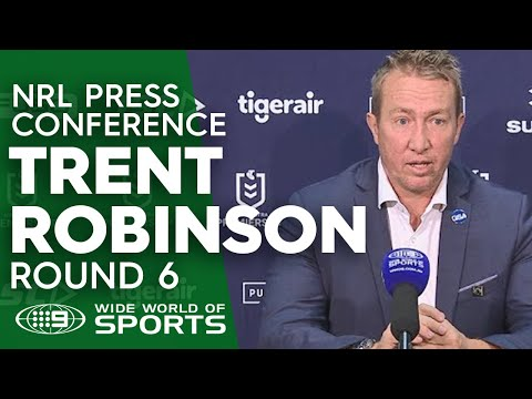 Xxx Mp4 NRL Press Conference Trent Robinson Round 6 NRL On Nine 3gp Sex