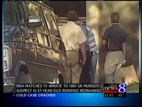 DNA matches TX inmate to 1991 GR murder