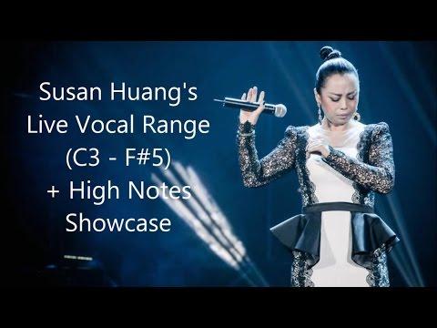 Download SophiaSusan Huang (黄绮珊), China's Soul Diva - Live Vocal Range (C3 - F#6) free
