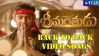 Srimanthudu Movie    Back to Back Video Song    Latest Telugu Movie 2015