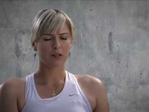 Maria Sharapova Nike Training