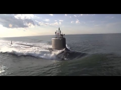 watch NEW SUBMARINE - United States Navy Takes Delivery of USS Minnesota