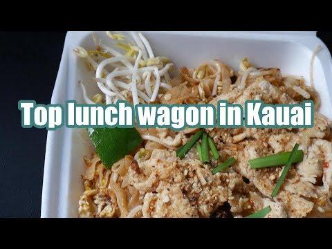 Where to eat in Kauai | Thai Street Food | Favorite lunch wagon | Real life Kauai | Living in Hawaii