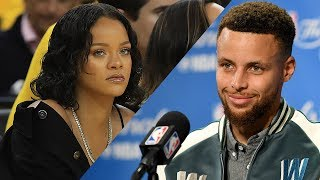Steph Curry DISSES Rihanna in Pre-Game Presser
