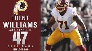 #47: Trent Williams (OT, Redskins) | Top 100 Players of 2017 | NFL