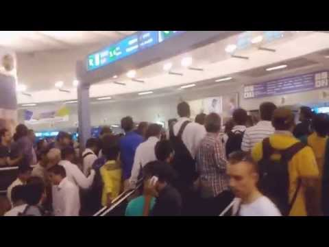 Delhi metro l boy molested by girl l