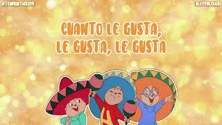 The Chipmunks - I Yi, Yi, Yi, Yi,/Cuanto Le Gusta (with lyrics)