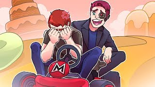 Mario Kart 8 Deluxe Subscriber Rage-Fest Livestream with MiniLadd
