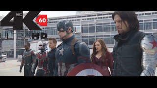 [4k][60FPS] Captain America Civil War Super Bowl Trailer 4K 60FPS HFR[UHD] ULTRA HD