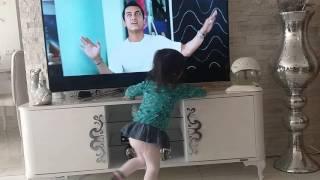 Turkish cute girl's Bollywood dance