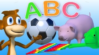 The phonics alphabet song for kids | For kids in kindergarten to learn abc | 30 min