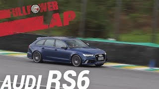 Audi RS6 Performance no FULLPOWER LAP: station monstruoso, V8 biturbo, em Interlagos (SP)