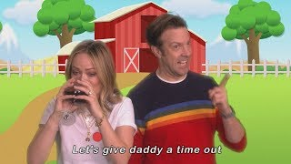 Jason Sudeikis and Olivia Wilde's 'Let's Give Mommy a Time Out' Music Video Debut