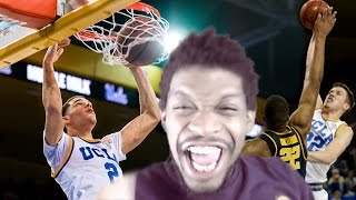 OMFG NASTIEST UCLA DUNK OF ALL TIME! LONZO BALL vs CALIFORNIA HIGHLIGHTS REACTION