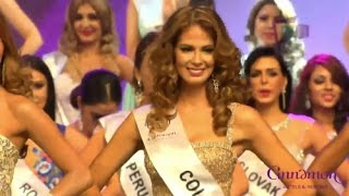 Carolina Carvajal en el Miss Intercontinental 2016