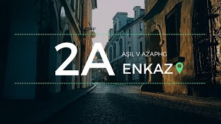 Azap HG & Aşıl - Enkaz #2A'ile (Official Lyric Video)