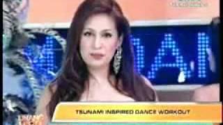 Regine Tolentino Tsunami Walk Dance UH