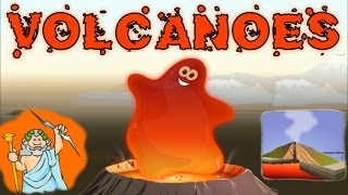 Volcanoes, Their Formation, Impact, & Eruption - Interesting & Educational Videos for Kids, Children