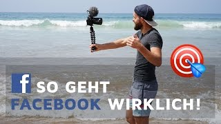 So geht FACEBOOK Marketing in 2017 wirklich! | Social Media Real Talk 🎯