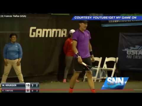 SNN Love Making Interrupts Sarasota Open Tennis Match
