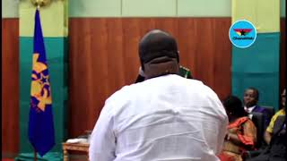 What Asempa FM's KABA asked the president when he met journalists in July 2017