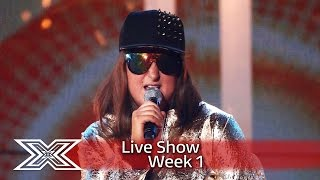 Golden girl Honey G takes on Tupac's California Love | Live Shows Week 1 | The X Factor UK