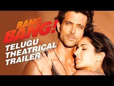 BANG BANG! Theatrical Trailer (Telugu) | Hrithik Roshan & Katrina Kaif