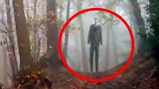 5 مشاهد ظهور رجل نحيل حقيقية صورتها عدسات الكاميرا !!