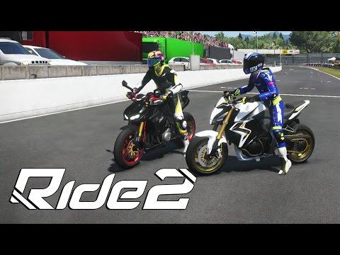 RIDE 2 - CB1000r VS Z1000, corrida e rachinha quem levou ?