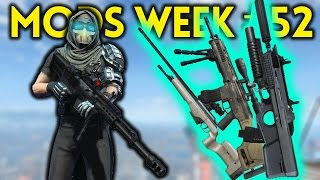 Fallout 4 TOP 5 MODS (PC & XBOX) Week #52 -  MODERN WEAPONS, FLYING HOUSE, PENTHOUSE