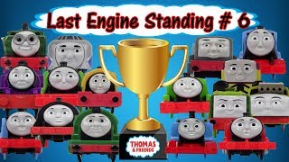 THOMAS AND FRIENDS TRACKMASTER LAST ENGINE STANDING #6 DEMOLITION DERBY TOYS TRAIN FOR KIDS