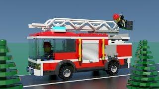 Lego City Fire Trucks for Children, Kids. Fire Truck in Action! Cartoons for Children