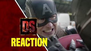 Captain America: Civil War TV Spot #5 REACTION!!!