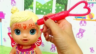 Baby Alive Parti Makyajı | Bebek Bakma Oyunu | EvcilikTV