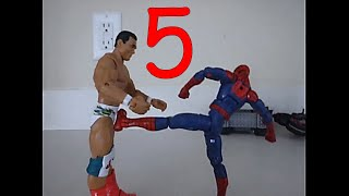 Spider-Man Stop Motion Action Video - Part 5