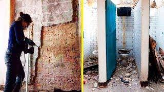 ضحك عليه الجميع عندما قال أنه سيحول المراحيض العامة القديمة لمنزل، وعندما انتهي ....!!!
