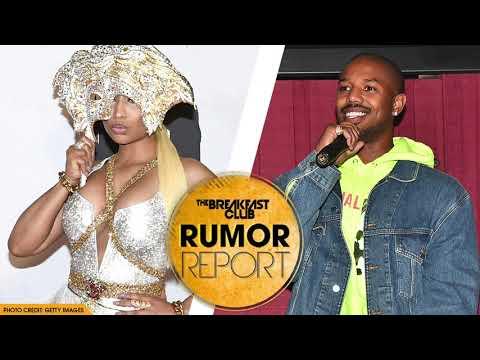 Xxx Mp4 Nicki Minaj Praises BF Lewis Hamilton AND Shoots Her Shot At Michael B Jordan 3gp Sex