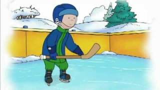 Caillou Videos Channel - Caillou Shoots! He Scores!