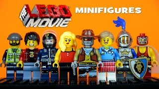 The LEGO Movie KnockOff Minifigures Set 1 (Bootleg)