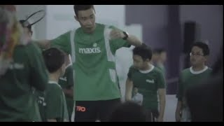 Maxis One Club -  Badminton Coaching Session with Dato' Lee Chong Wei