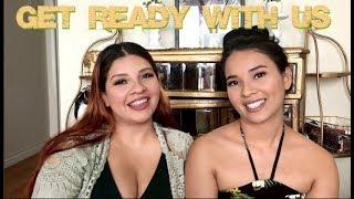Get Ready with Us   Hawaiian Luau    Mimi and Lala ♥︎