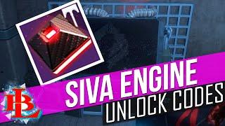 Destiny SIVA ENGINE CODES for TITAN HUNTER and Warlock How to Unlock Siva Engine